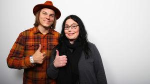 Frank Martela ja Maria Jyrkäs