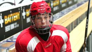 Oskar Komarov, HIFK:s B-juniorer