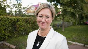 Ålands näringsminister Camilla Gunell