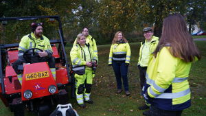 parkarbetare i Raseborg