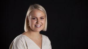 Luciakandidat Nea Lundström.