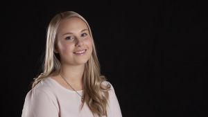 Luciakanididat Melissa Sundblad.