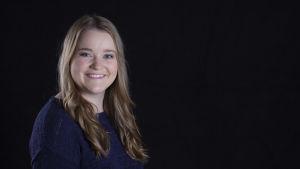 Luciakandidat Julia Wik.