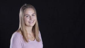 Luciakandidat Jessica Lindholm.