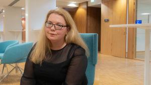 Porträtt på Anna-Mari Rusanen.