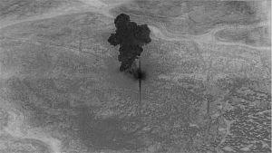 al-Baghadis gömställe förstördes med en kraftig bomb efter räden.