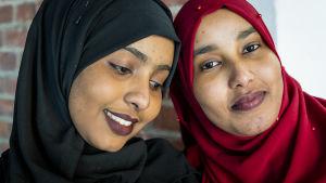 Maryam Yuusuf Ahmed ja Shukri Abdi Husein.