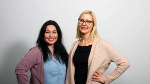 Maria Jyrkäs ja Anni Erkko.