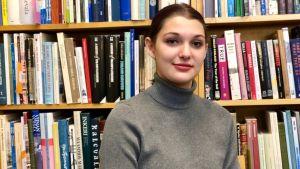Elizabeth Reid studerar vid Finnish Studies-enheten i Toronto.