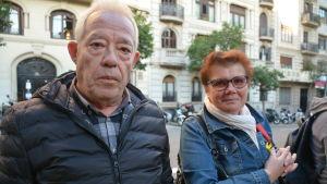 Antonio Artés Más och Francisca Capdevila är engagerade självständighetsanhängare.