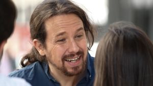 Pablo Iglesias leder vänsterpartiet Unidas Podemos