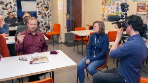 BBC:n kuvausryhmä vierailee Iissä.