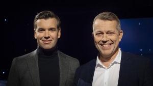 Sören Lillkung tillsammans med Daniel Olin.