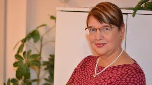 Marina Holmberg, chefredaktör för tidningen Västra Nyland.