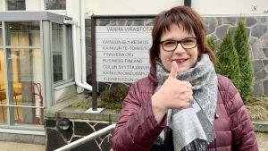 Kainuun ELY-keskuksen Sari Myllyoja on iloinen Talvivaara-oikeudenkäynnin tuloksesta