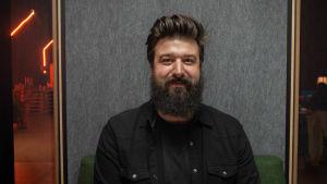 Porträtt på Andreas Zannin