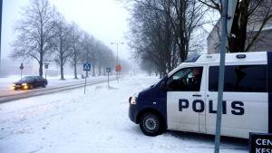 Polisbil i Pargas.
