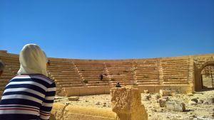 Nada Kettunen Palmyran muinaisilla raunioilla