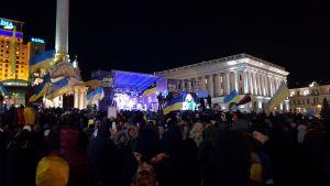 Demonstration Mot kapitulation i Kiev.