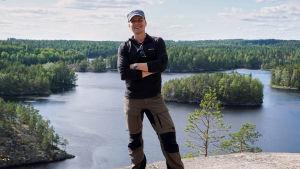 Paavo Nikkola i Repovesi nationalpark.