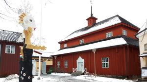 Pedagogiet i museikvarteret i Karleby.