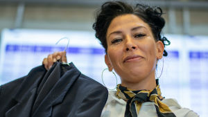 Maria Bremer vann mål mot Viking Line