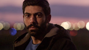 Närbild på Mohamed (Bakr Hassan).