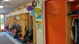 Korridor i Tuovilan Koulu