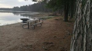 Littoistenjärvi talviasussa