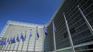 Europeiska kommissionens byggnad i Bryssel.