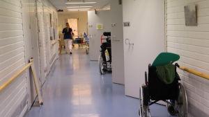 Pargas hälsovårdscentral.