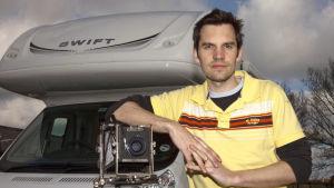 Simon Roberts på ett foto från 2010.