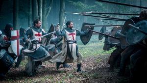 Taistelukohtaus Knightfall-televisiosarjassa