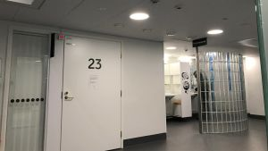 Suun terveydenhuollon röntgen kaupunginsairaalassa Lahdessa