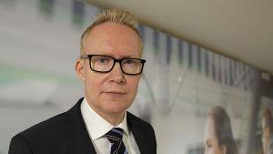 Rolf Jansson on Vr:n pääjohtaja.