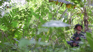 farcsoldat i djungeln