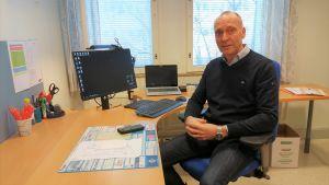 Kjell Nydahl, direktör för företagstjänster på VASEK.