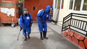 Coronaviruset har också nått Afghanistan, där man bävar för följderna i ett krigshärjat och utarmat land.