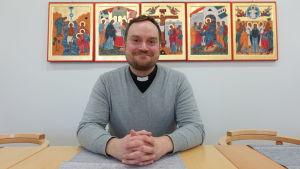 Präst Daniel Nyberg