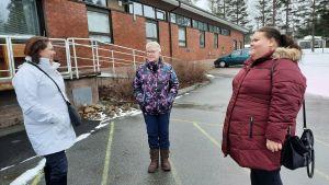 Niina Veko, Kirsi Salo ja Anna Seppälä