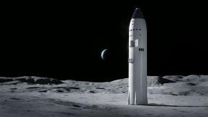 SpaceX suunnittelee jo kuulentoversiota Starshipistä Nasalle.