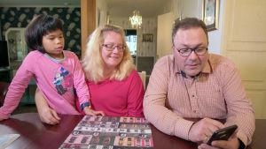 Familjen Nordmyr bor i Korsnäs.