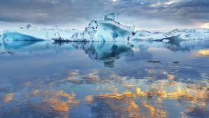 Islannin jäätikköä