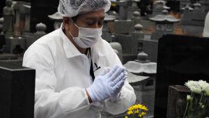 Japanin Fukushimassa on siivottu ydinturman jälkiä yhdeksän vuotta.