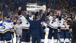 St. Louis Blues firar Stanley Cup 2019.