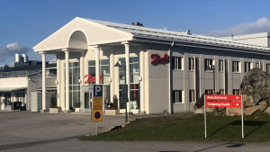 Danfossin päärakennus Vaasassa