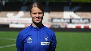 Maija Saari, assisterande tränare