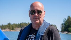 Hans-Erik Nyman i Baggö hman