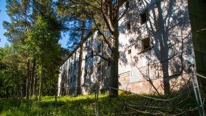 Gammalt hus på Jussarö