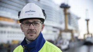 Meyer Turkus kommunikationschef Tapani Mylly